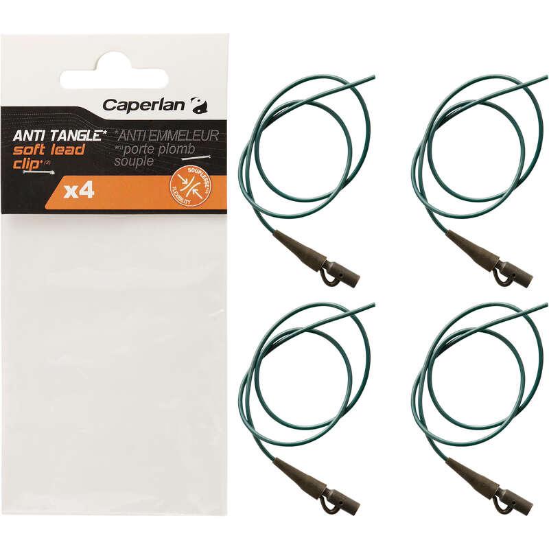 Kleinteile Karpfenangeln Angeln - Anti-Tangle weich Leadclip CAPERLAN - Karpfenangeln