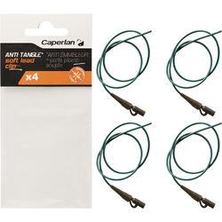 Accessoire's karpervisser soepele anti-tangle + Lead Clip