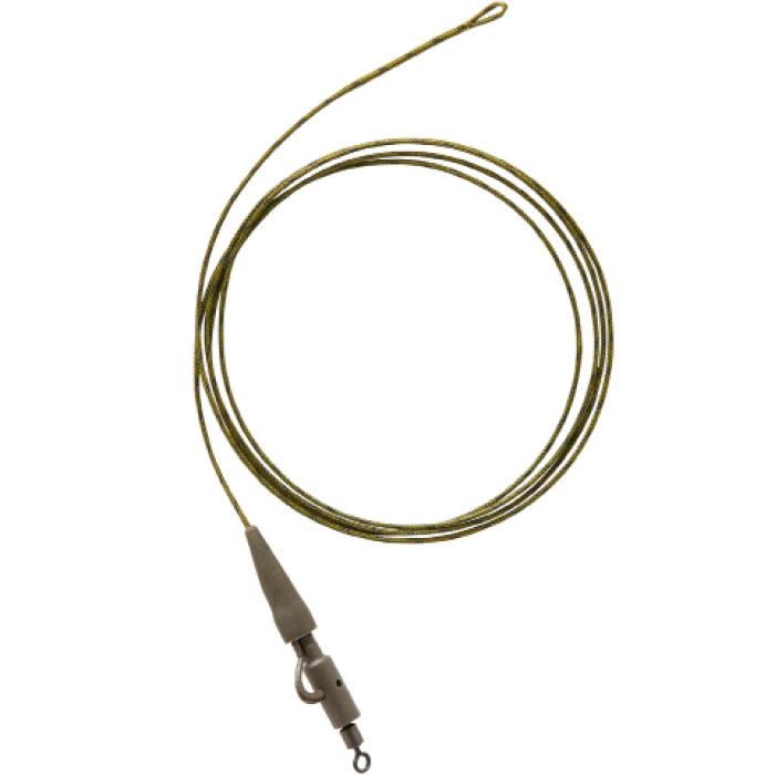Accessoires voor karpervissen set leadcore + leadclip