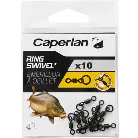 CARP FISHING RING SWIVEL