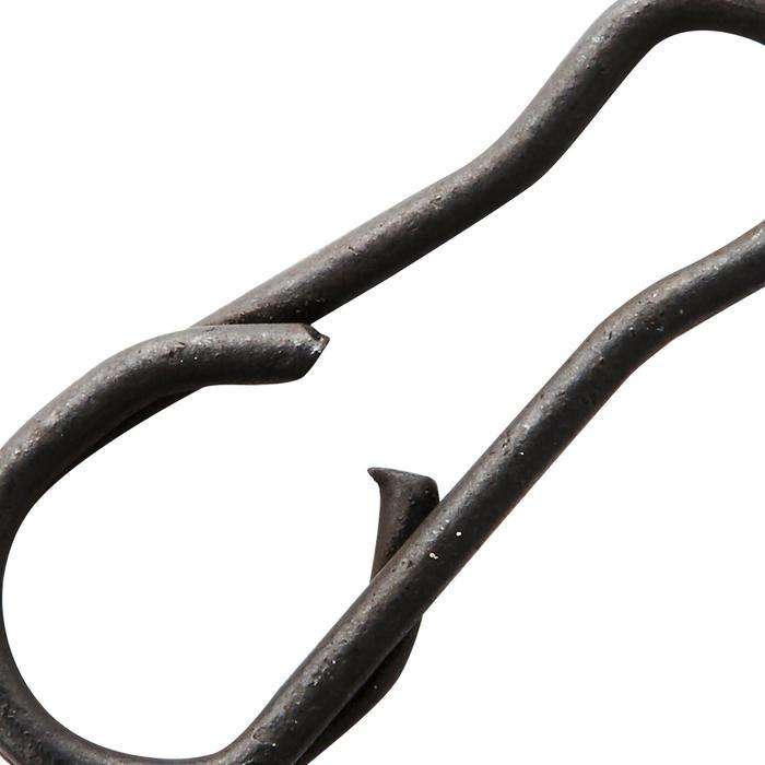 Speldconnector karpervissen Snap Black - 1328907