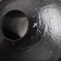 Perle 6 mm weich schwarz Karpfenangeln