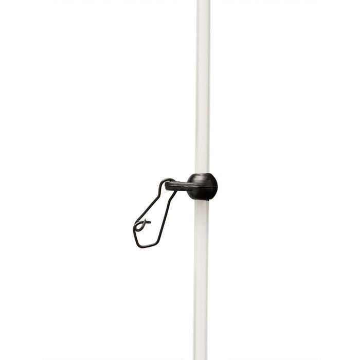 Accessoire voor karpervissen anti-tangle doorschijnend 40 cm