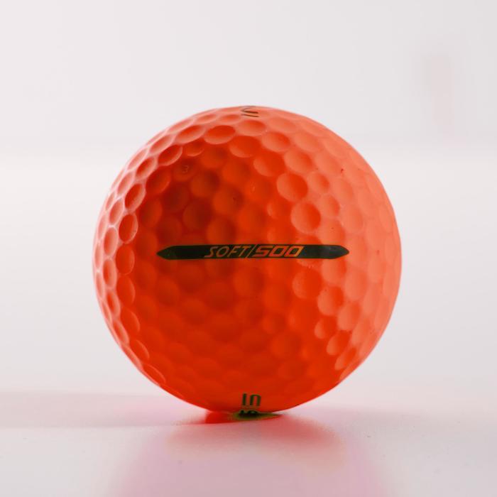 Balle de golf SOFT 500 X12 mat - 1328939