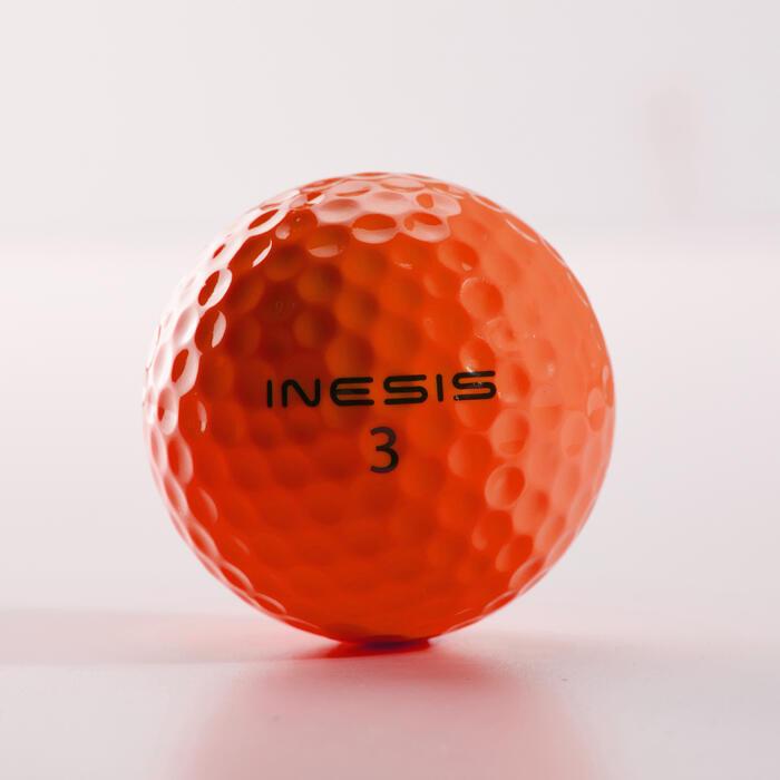 Balle de golf SOFT 500 X12 mat - 1328941