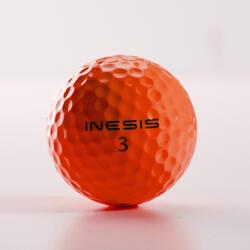 Bola de golf SOFT 500 X12 naranja