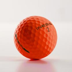 Balle de golf SOFT 500 Matte X12 Orange