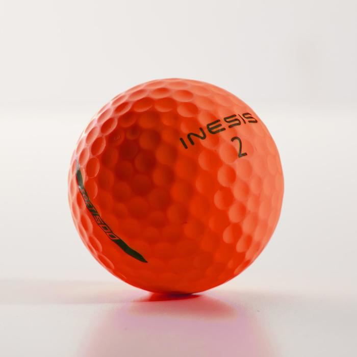 Golfballen Soft 500 x 12 oranje mat