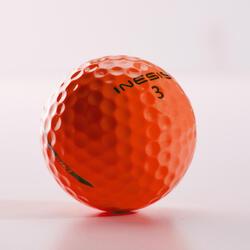 Golfballen Soft 500 x12 oranje