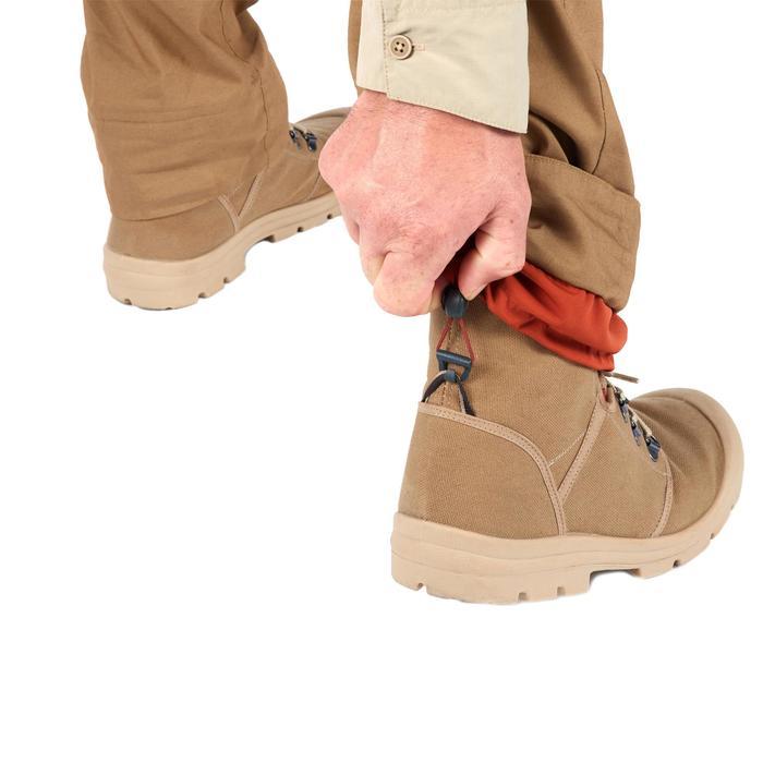 沙漠健行鞋Desert 500-棕色