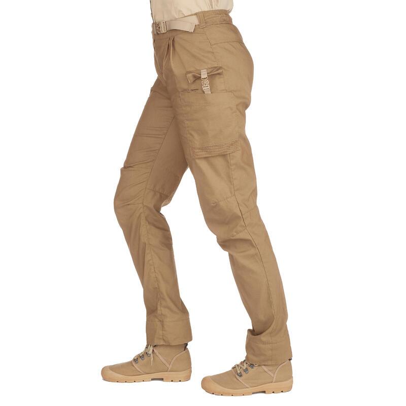 Pantalones Mujer Desierto Trekking y Montaña Forclaz Desert500