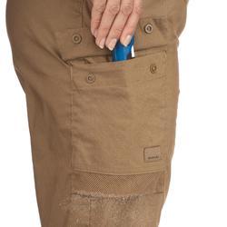 Desert 500 Women's Desert Trekking Trousers - Brown