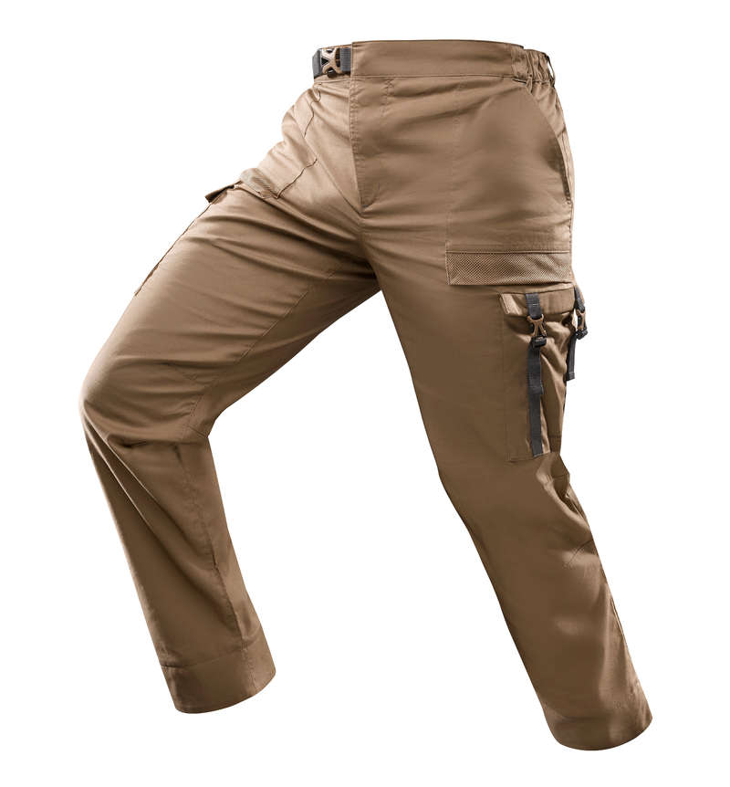 OUTFIT DESERT TREKKING Hiking - Desert 500 M Trousers - Brown FORCLAZ - Hiking Clothes