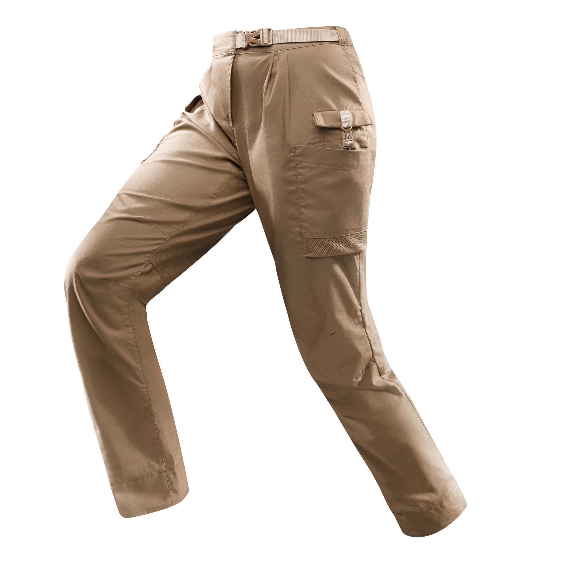 Trekkinghose Desert 500 Damen braun | Sportbekleidung > Sporthosen > Trekkinghosen | Braun | Forclaz