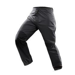 Men's Mountain Trekking Waterproof Over-trousers Trek500 - Grey