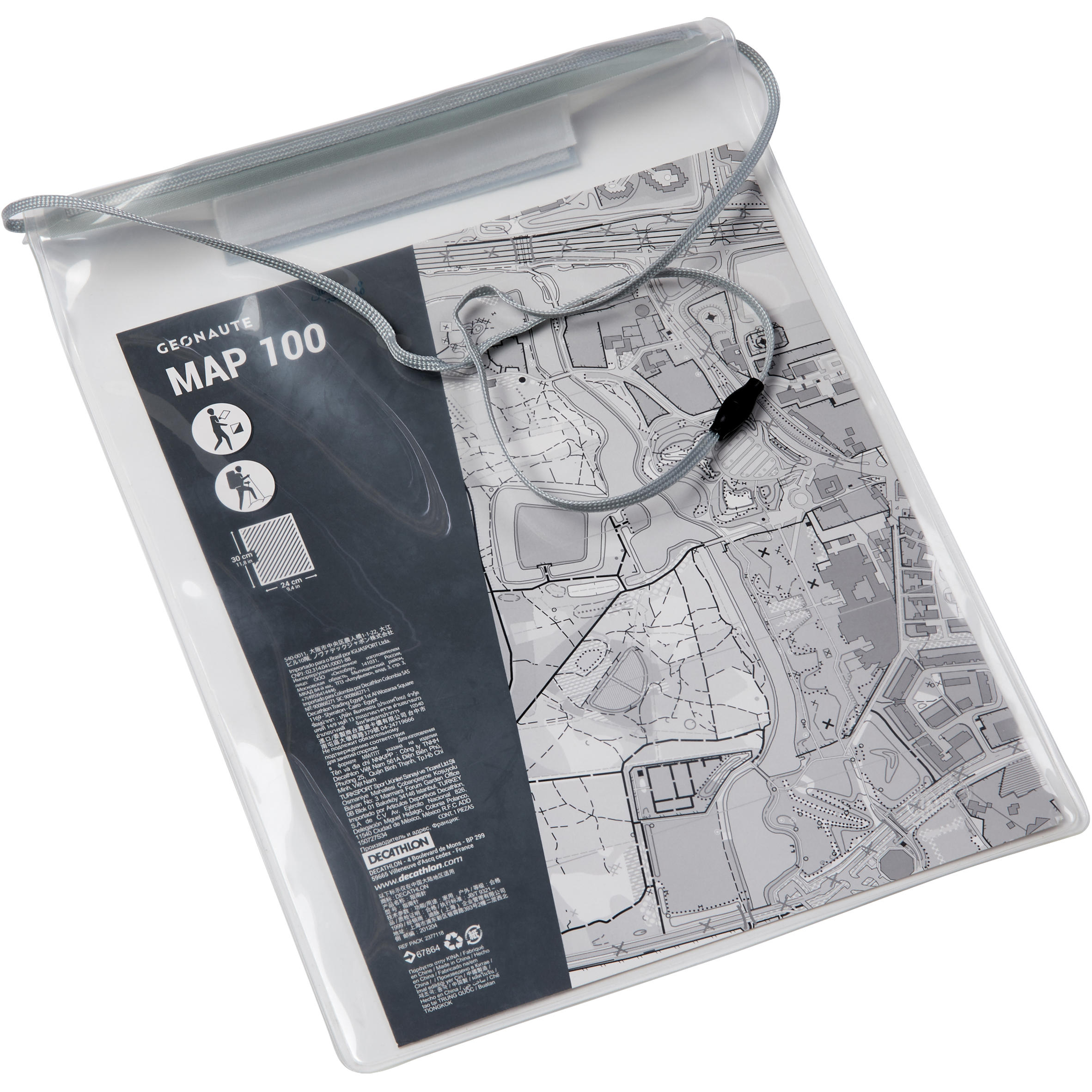 Supple map pouch...