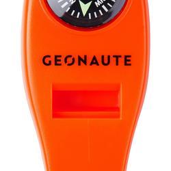 Sifflet multifonction avec boussole thermomètre loupe intégrés