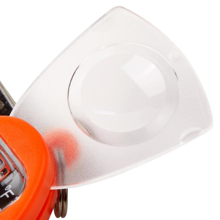 Silbato multifunción con brújula, termómetro y lupa integrados