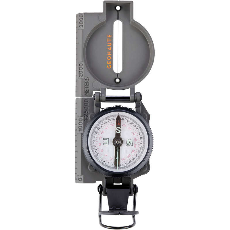 COMPASS AND ORIENTEERING EQUIPMENT Outdoor Equipment - C400 sighting compass GEONAUTE - Navigational Equipment