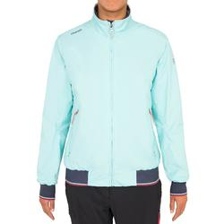 Race 100 women's yacht racing sailing anorak - mint green