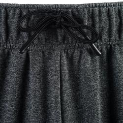 修身剪裁健身與皮拉提斯短褲900 - 斑點灰色