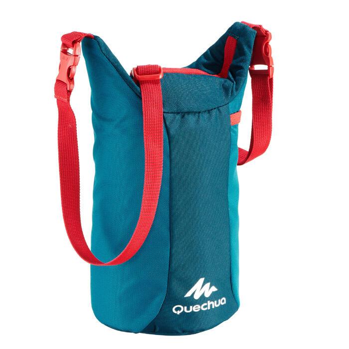 Glacière Lunch box MH100 randonnée (avec 1 boîte alimentaire) 2,3 litres bleu - 1329461
