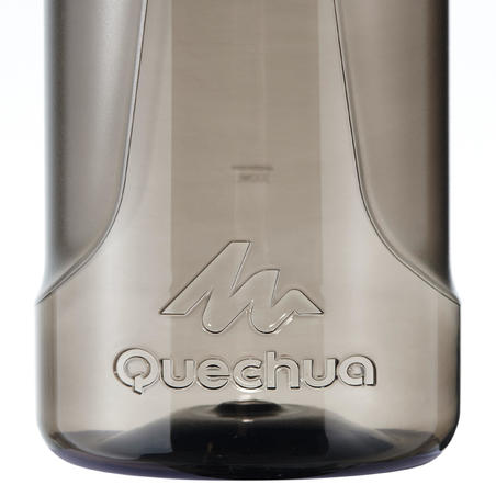 Quick-Open, Plastic (Tritan), 500 Hiking Flask (1.2 Litres) - Black