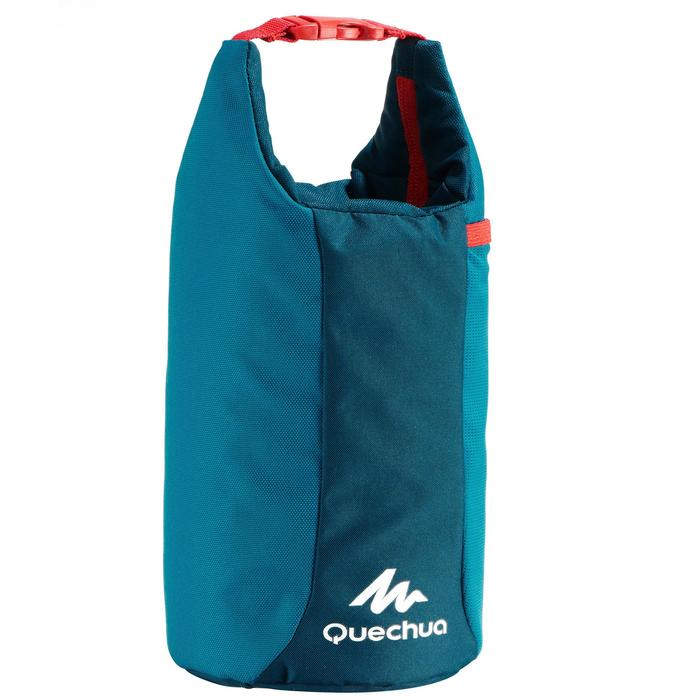 Cool box Lunch box MH100 for hiking (with 1 food box) 2.3 litres blue
