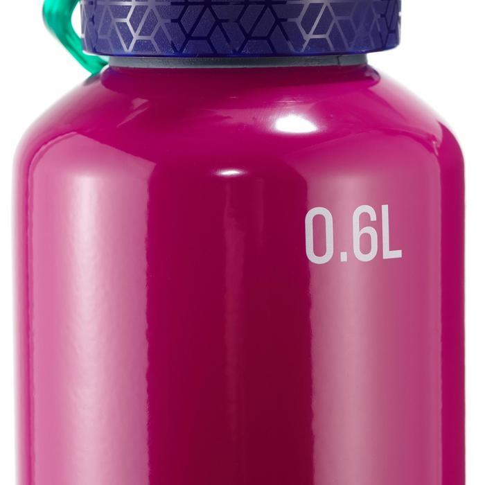 Aluminium drinkfles voor wandelen 900 0,6 lmet snelle opening