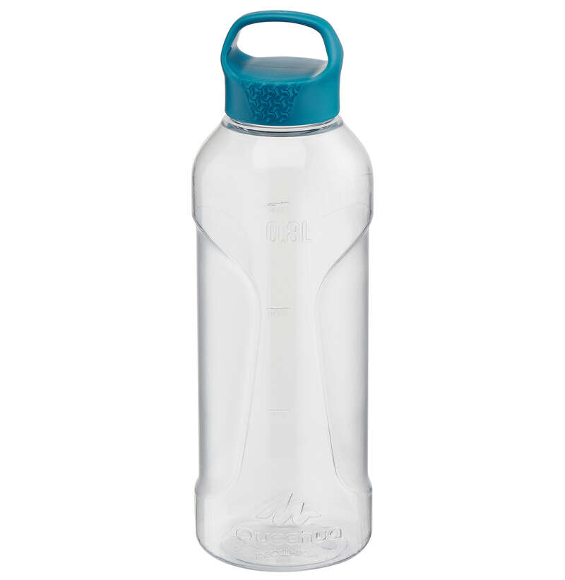 HIKING BOTTLES Water Bottles - 100 Tritan 0.8 L Flask QUECHUA - Nutrition and Body Care