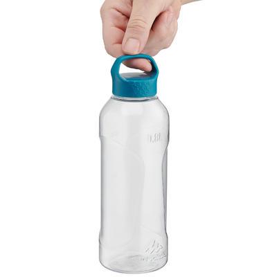 Cantimplora de senderismo 100 con tapón de rosca 0,8 L de plástico Tritán