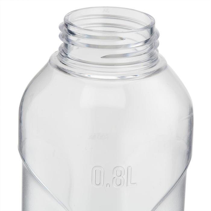 Cantimplora senderismo 100 tapón de rosca 0,8 litro plástico (Tritan)