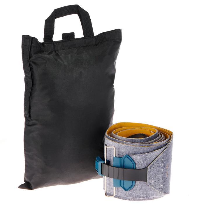 WEDZE PACK SKI FREERIDE RANDONNEE FR 900 PETROLE NOIR + fixations + peaux