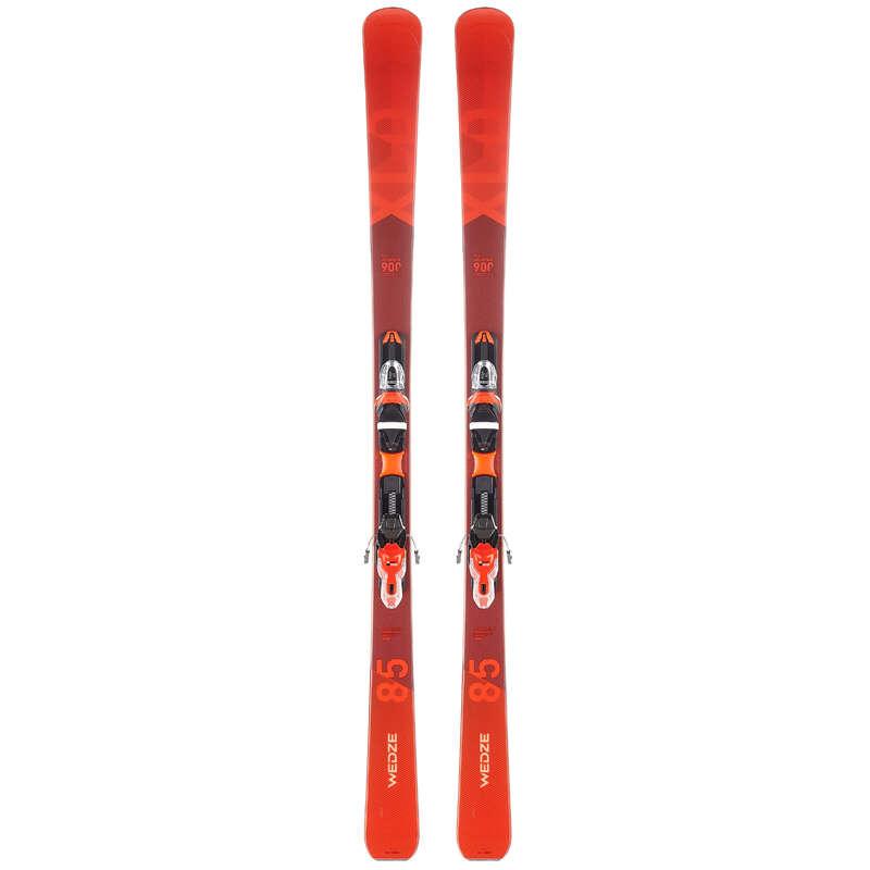 SKIS FREERIDE HOMEM DESP. DE NEVE - Skis Homem XLD 900 Vermelho WEDZE - All Catalog