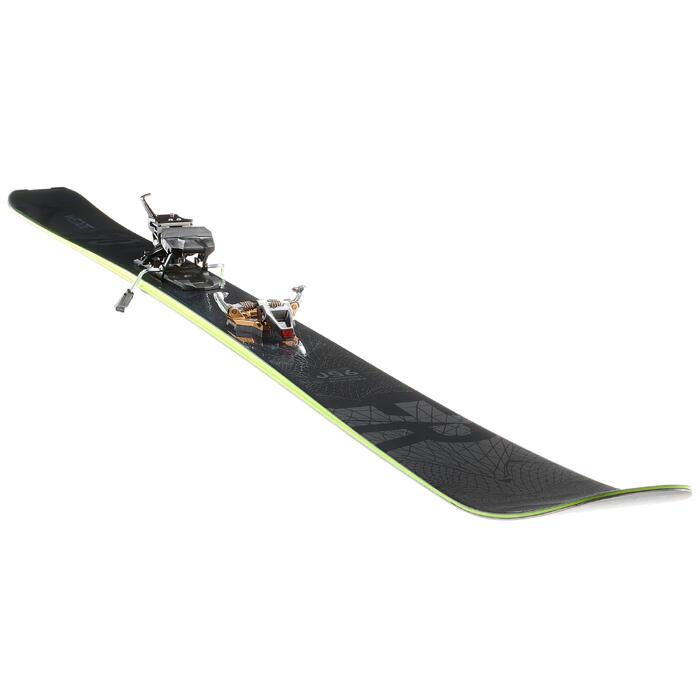 Ski Freeride 950 Erwachsene schwarz