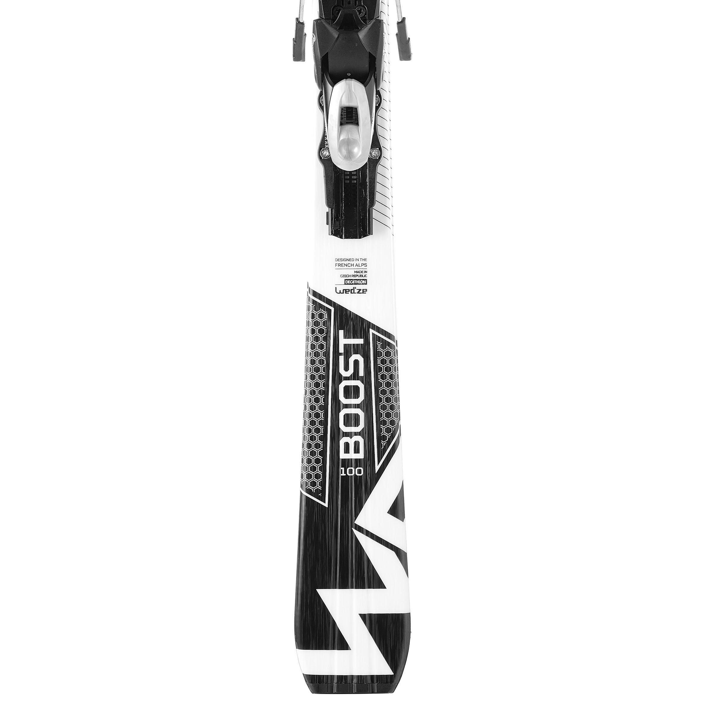 Boost 100 Women's Downhill Skis - White