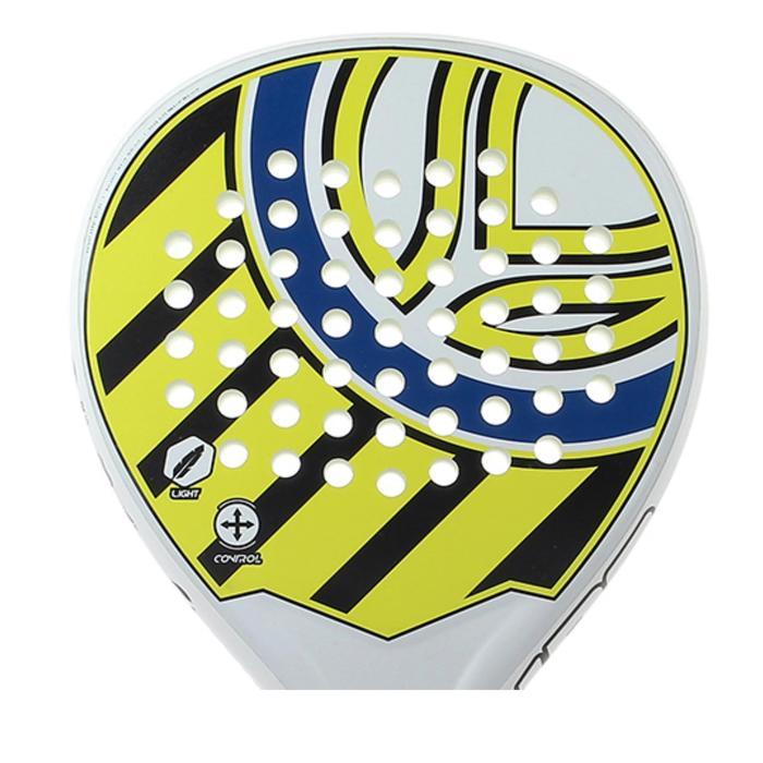 Padel racket PR190 zwart/geel