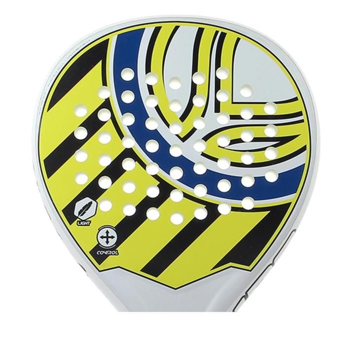 Padelracket PR190 zwart / geel