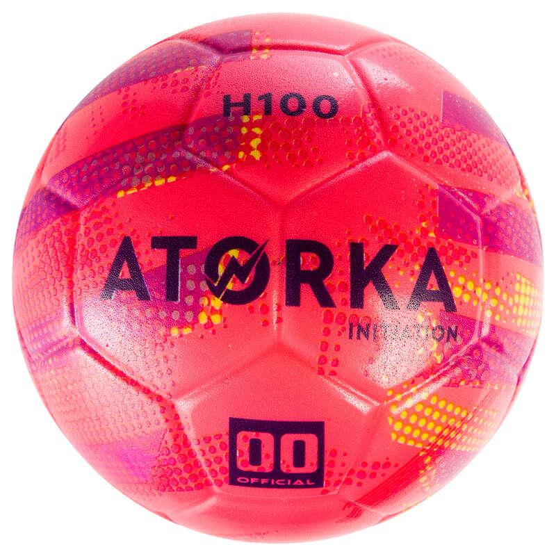 HANDBALL BALLS Handball - HBI100 Kids' - Pink/Purple ATORKA - Handball