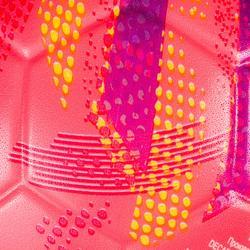 Balón de balonmano de iniciación júnior H100 rosa / violeta