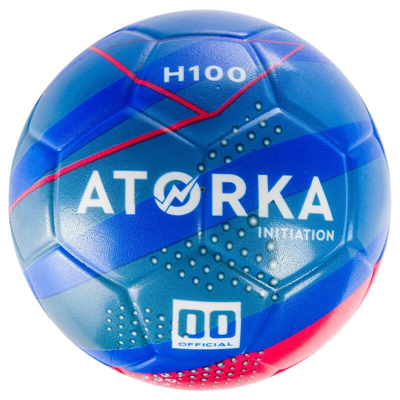 H100 Hentbol Topu - Çocuk - Mavi / Sarı