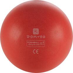 Balón Pelota Espuma Gimnasia Domyos Rojo