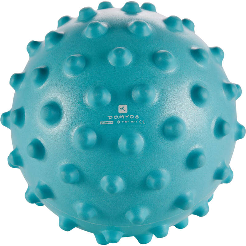 BABY GYM SMALL EQUIPMENT Gymnastics - Sensory Ball - Blue DOMYOS - Gymnastics