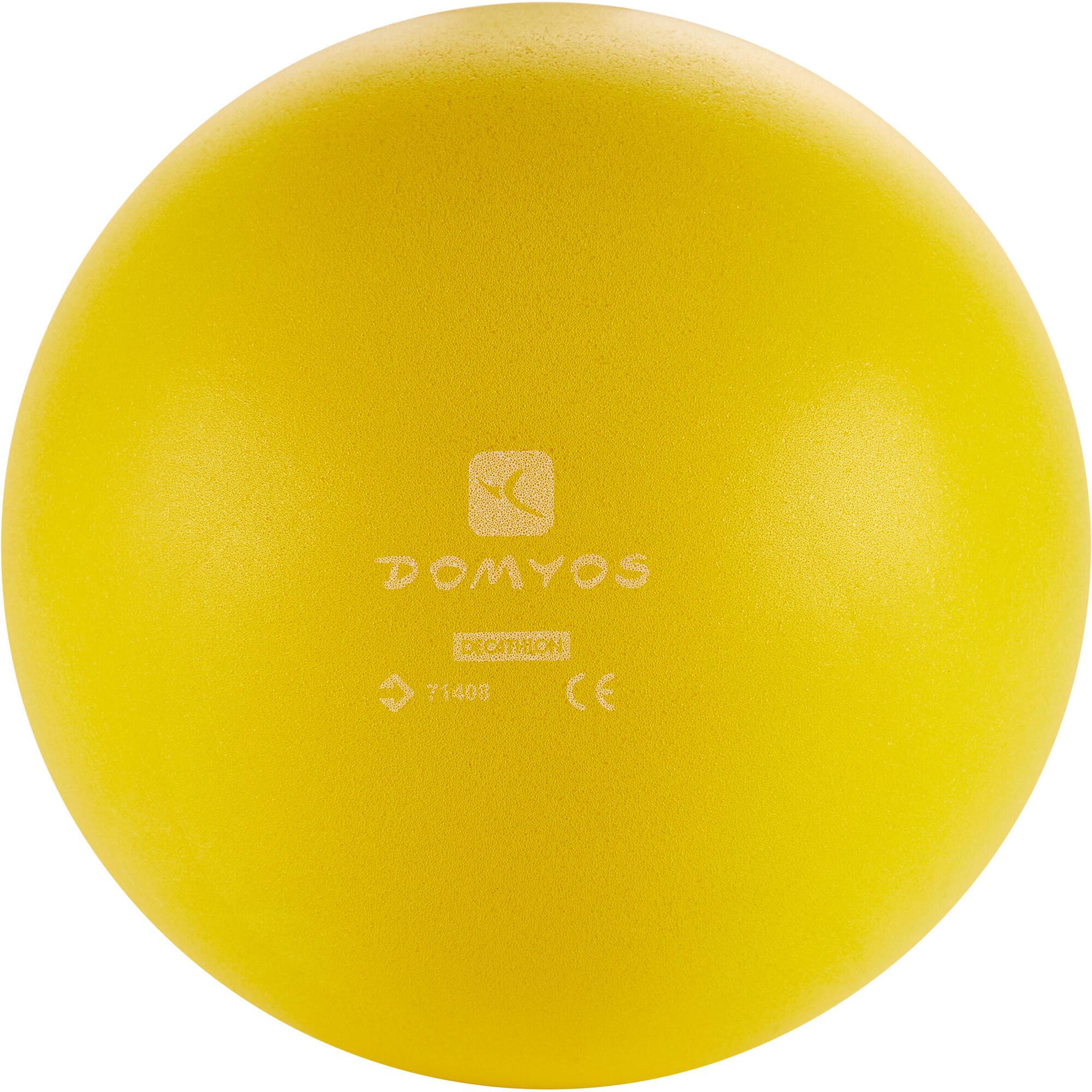ballon mousse jaune domyos by decathlon. Black Bedroom Furniture Sets. Home Design Ideas