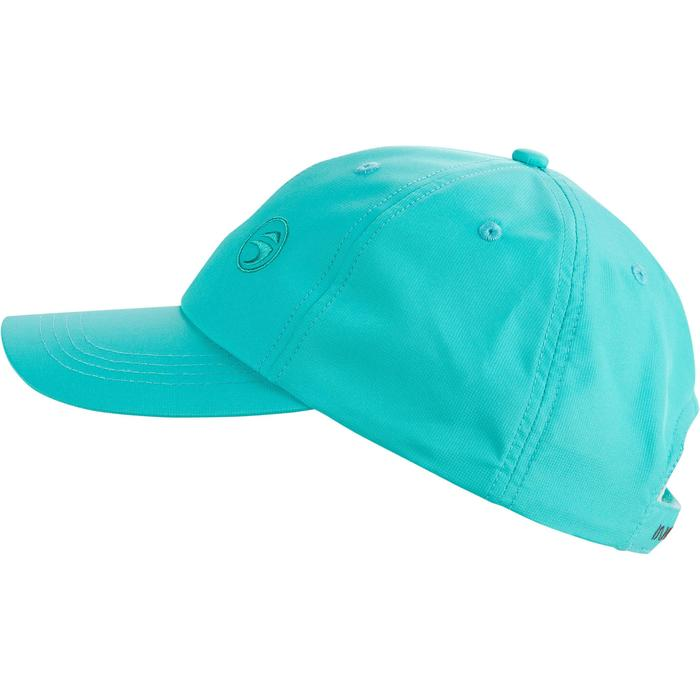 Gorra de golf transpirable azul turquesa para adulto