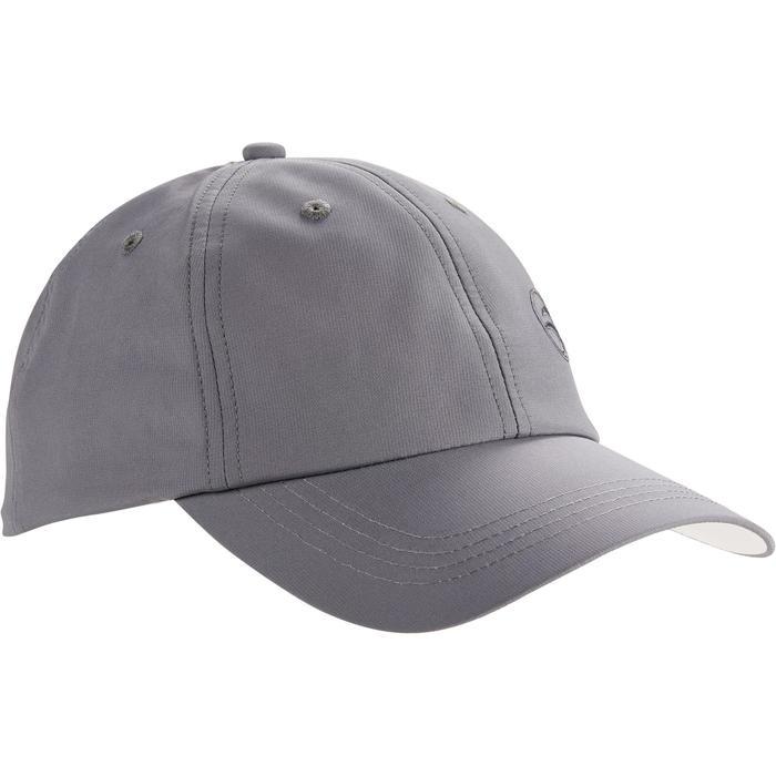 Casquette golf adulte gris foncé