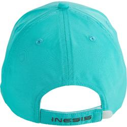 Casquette golf adulte repirante turquoise