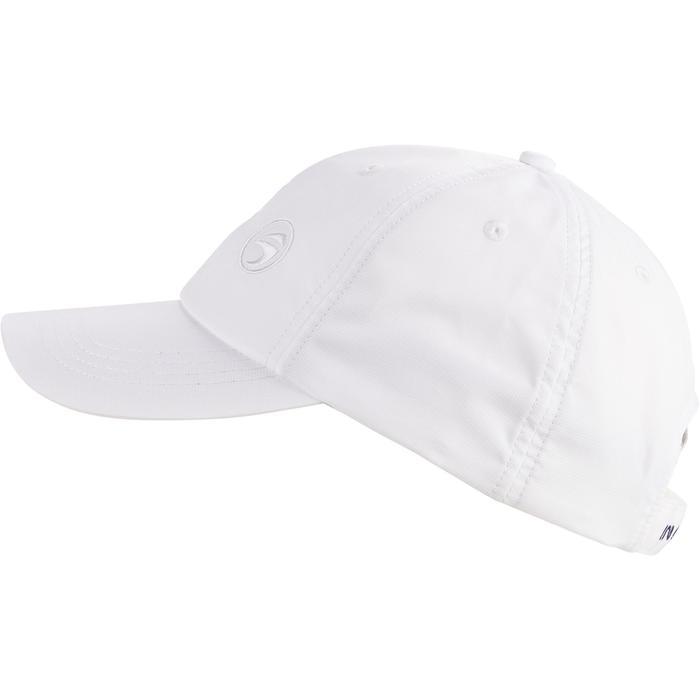 Gorra de golf blanca para adulto