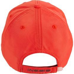 Gorra de golf roja para adulto