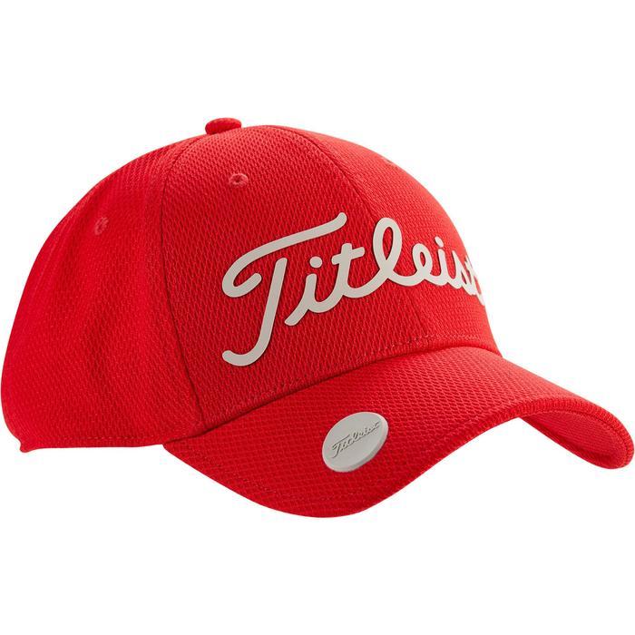 Casquette de golf adulte titleist rouge - 1329837